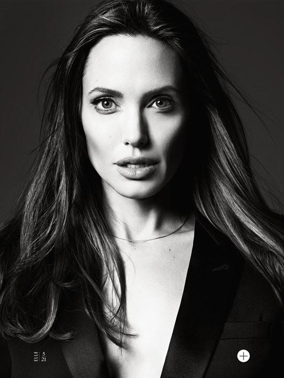Angelina Jolie by Hedi Slimane Elle US 07