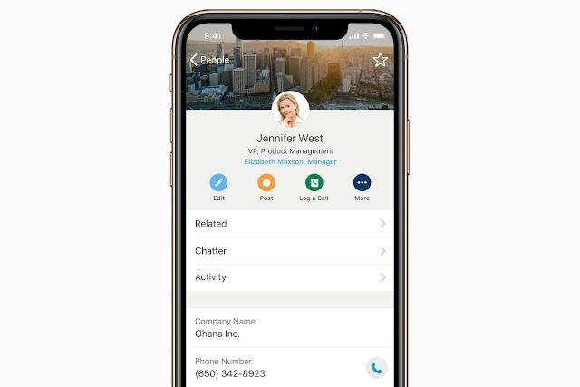 Salesforce anuncia nuevas aplicaciones empresariales de iOS