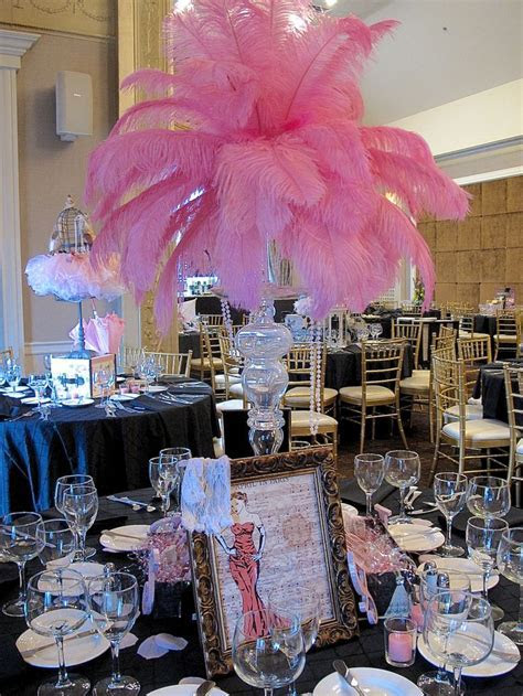 April in Paris Centerpieces for a Spring Party   Sweet 16