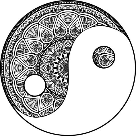 coloriage mandala zen  imprimer sur coloriages info