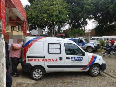 Mulher foi atendida inicialmente no Hospital de Ubatã (Foto: UN/Arq)