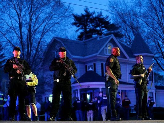 police watertown boston suspect