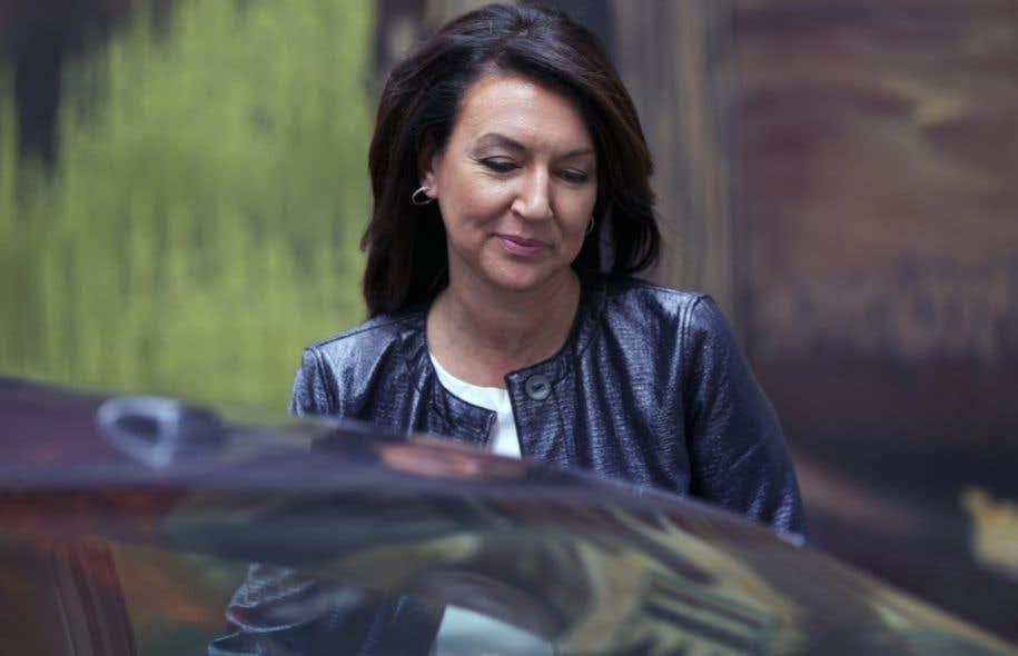 L'ancienne vice-première ministre et animatrice de radio Nathalie Normandeau