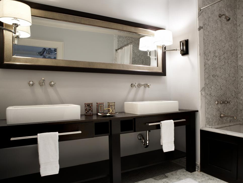 Black and White Bathroom Designs | HGTV