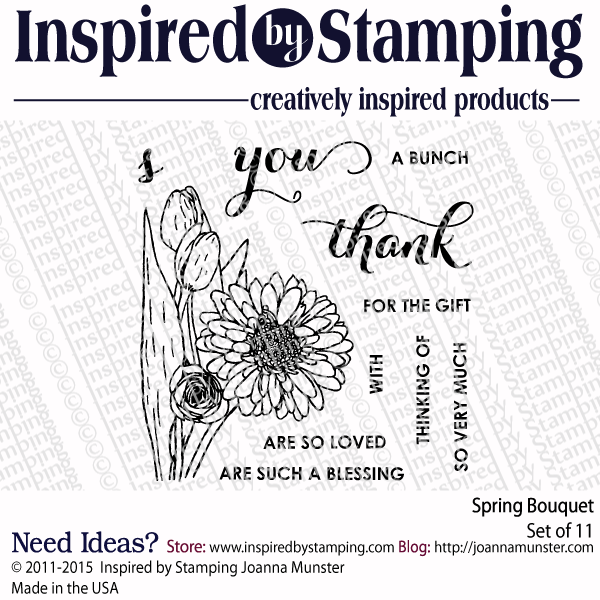Inspired by Stamping Spring Bouquet stamp set
