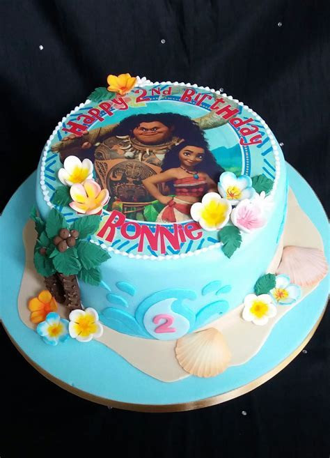 Moana Birthday cake   Baby Girls Birthdays in 2019   Moana