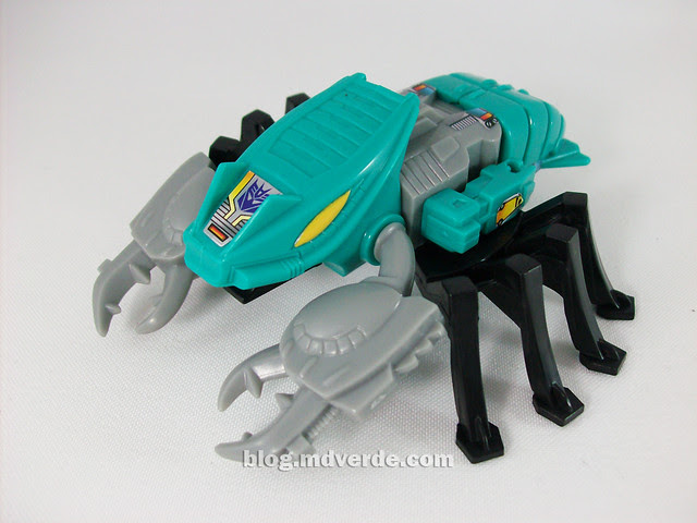 Transformers Nautilator G1 Reissue - modo alterno