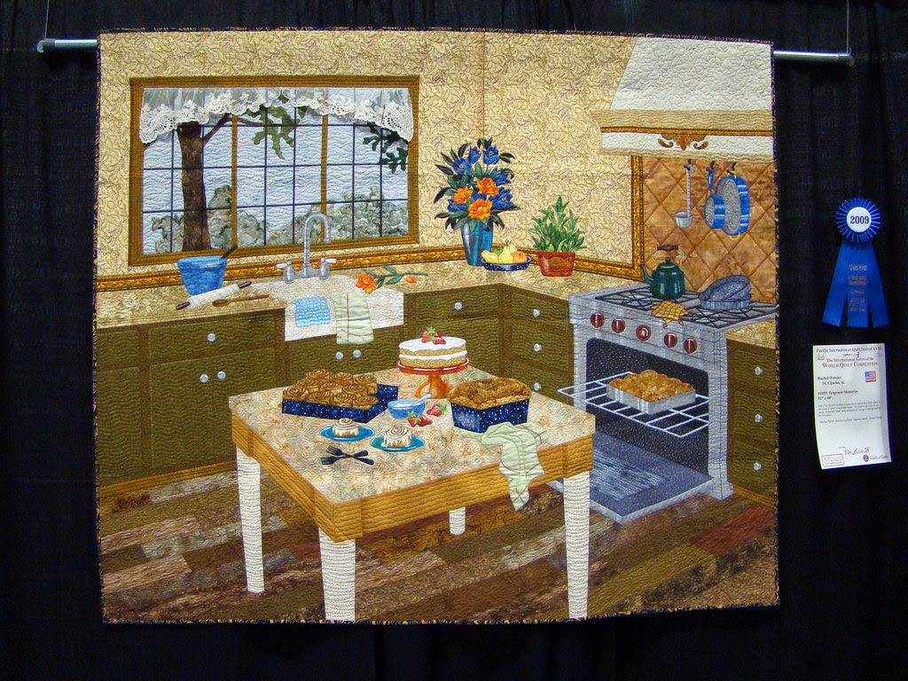 DSC02742 Quilt 1059 Fragrant Memories by Rachel Wetzler