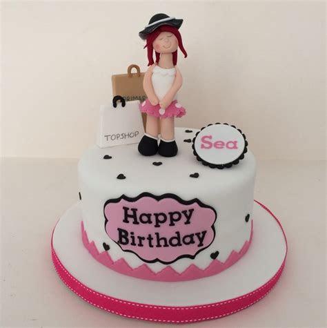 shopping theme cake