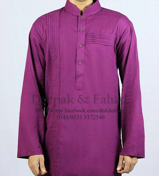 Mens-Boy-New-Summer-Eid-Dress-Kurta-Kamiz-Salwar-Pajama-2013-by-Deepak-Fahad-2