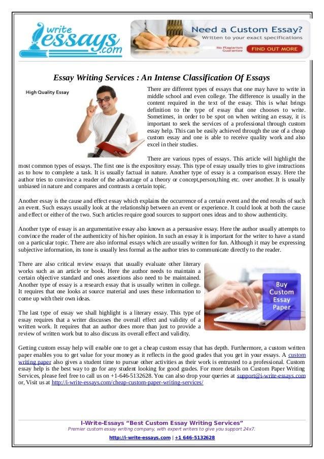 legitimate essay writing service a person