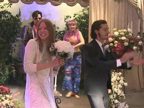 Mia Goth?s Wedding Dress ? Marries Shia Labeouf In White