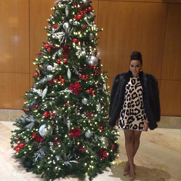 Angela Simmons's Instagram Shop Reverie Leopard Printed Inception Dress