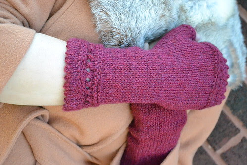 red mitts