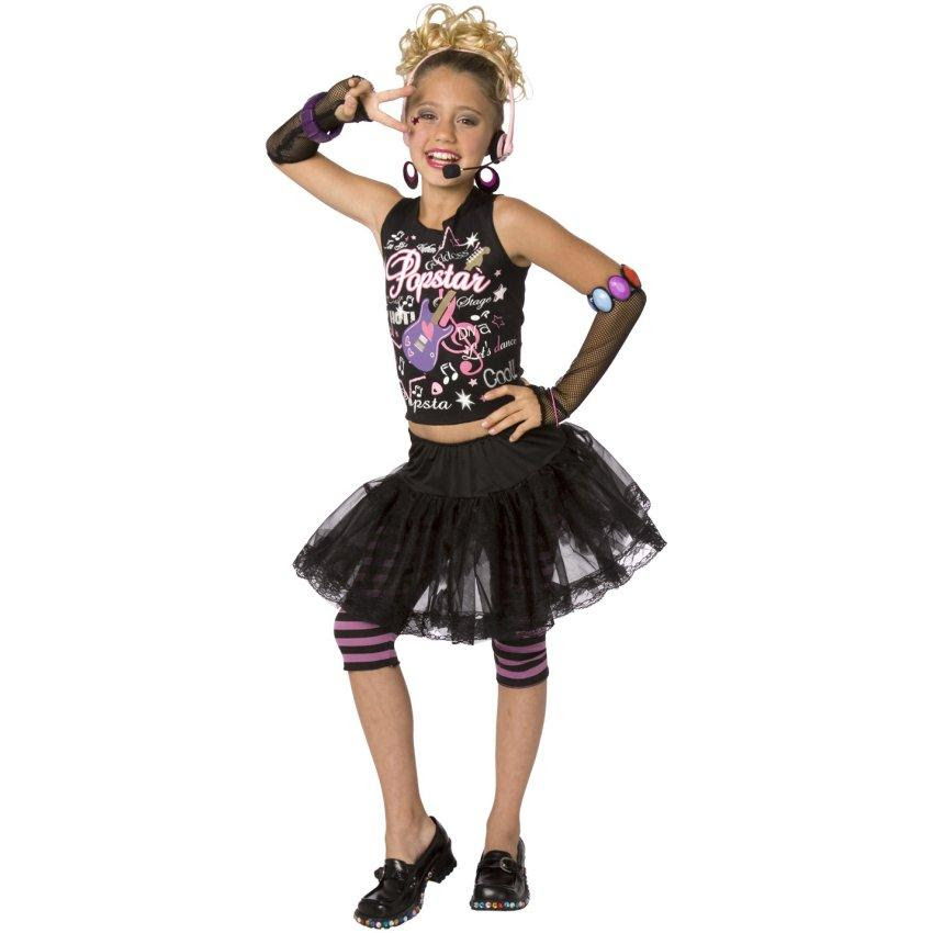 Pop Star Child Costume Halloween Costume Ideas 2018