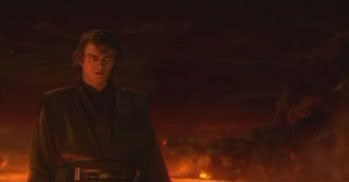 Darth Vader on Mustafar.