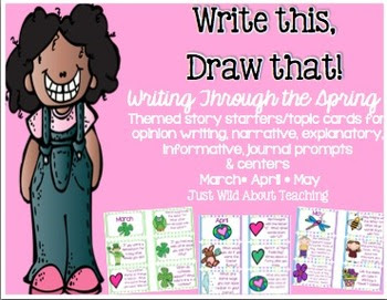 Write This & Draw That!  {writing story starters with topi