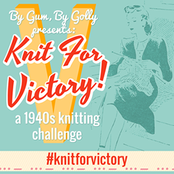 Knit for Victory: a 1940s-inspired knit-along
