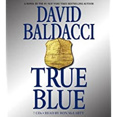True Blue by David Baldacci - Audiobook Featured at A Book Blogger's Diary
