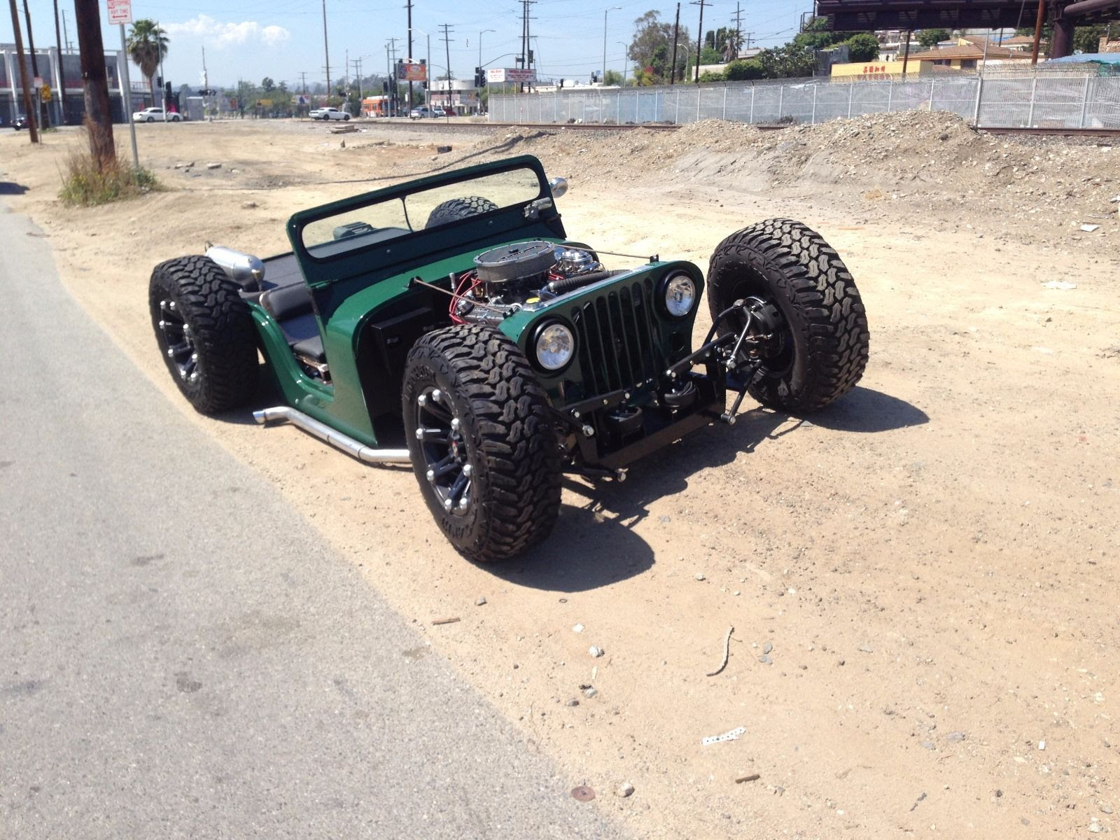 Top Jeep Jeep Rat Rod For Sale