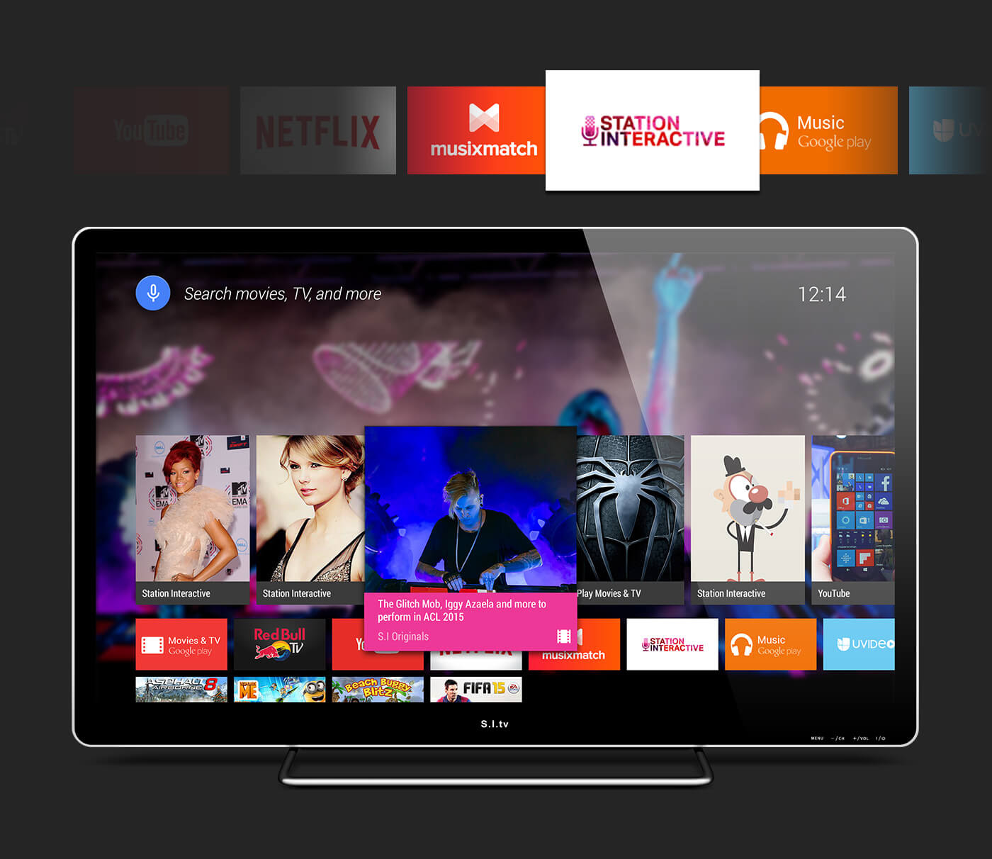 AndroidTV PSD