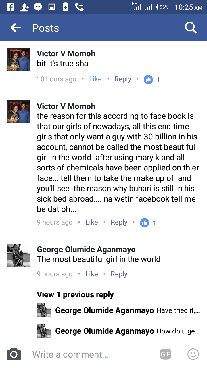 Fb Comments On Beautiful Girl Pic Daily Health
