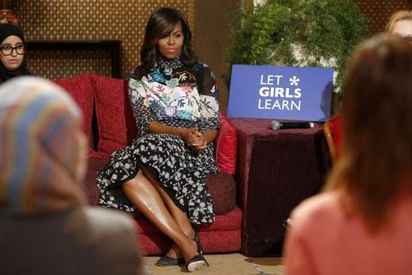 مئة مليون دولار لدعم تعليم الفتيات في المغرب على هامش زيارة ميشيل أوباما