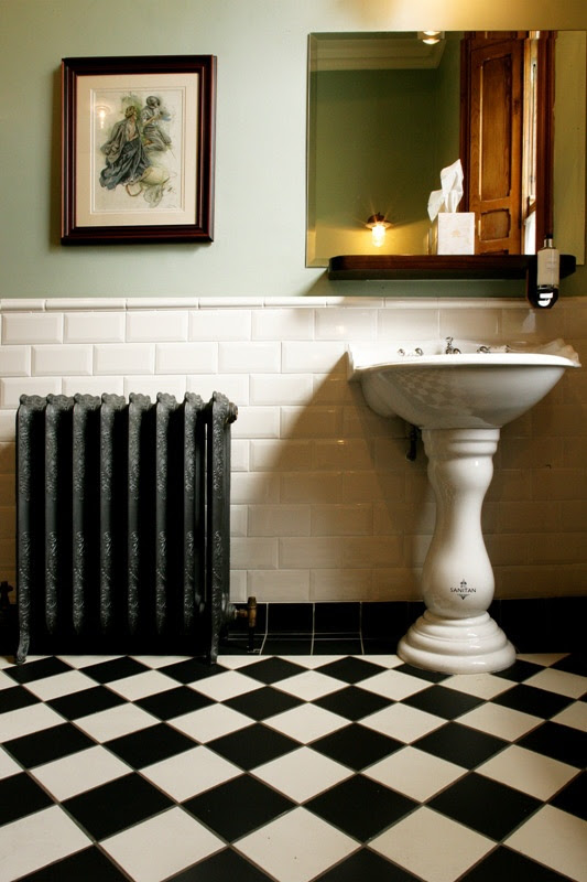 21 victorian black and white bathroom floor tiles ideas ...