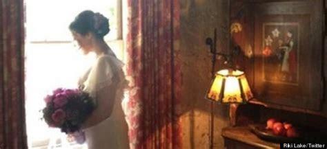 Go Ricki! Ricki Lake elopes and how lovely is her wedding