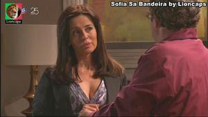Sofia Sa Bandeira sensual em vários trabalhos