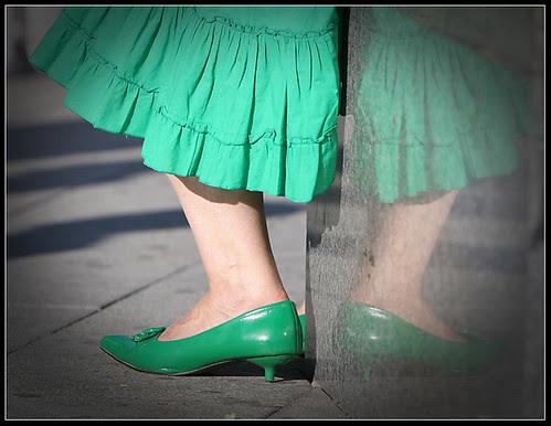 zapatos verdes
