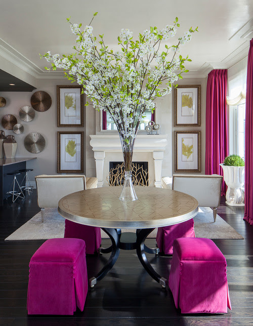 decorating with fuschia
