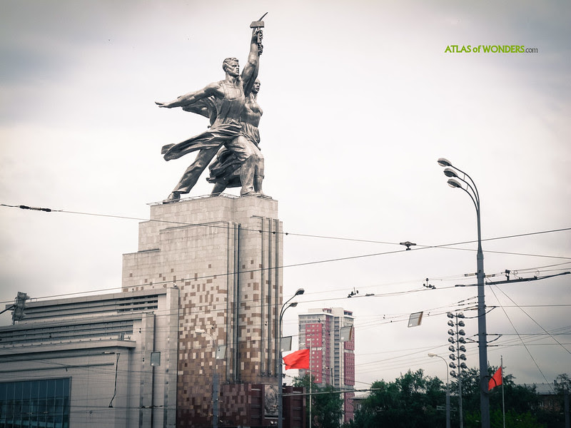 Estatuas soviéticas monumentales