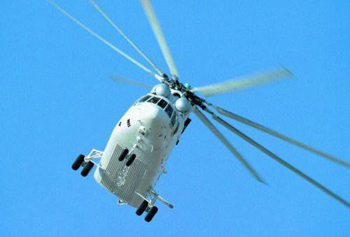 Среди тяжелых транспортных вертолетов всех стран мира так и не  появилось конкурента российской машине