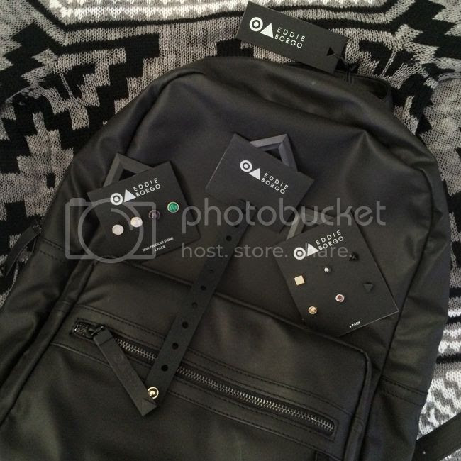 Eddie Borgo for Target black backpack