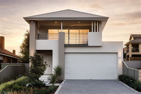 homes  storey narrow lot small perth architecture