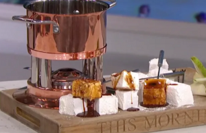 James Martin marshmallows masterclass with a goat's milk sauce on This Morning - The Talent Zone