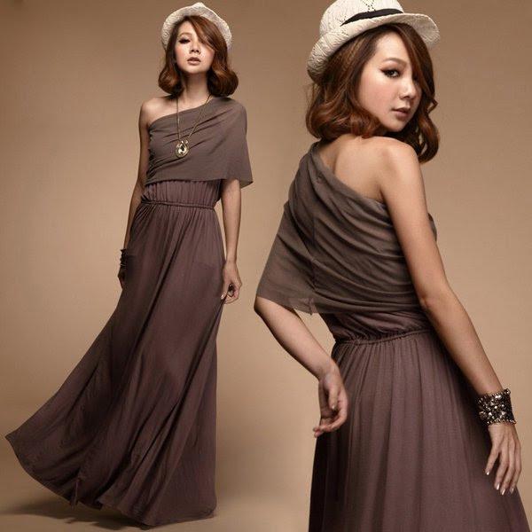 Elegant maxi evening dresses