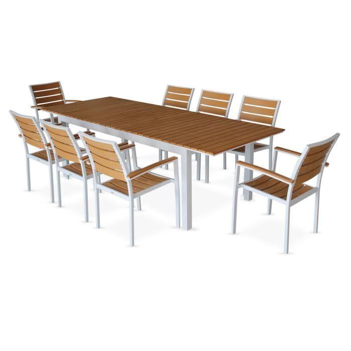 20 Luxe Table De Jardin En Aluminium Avec Rallonge