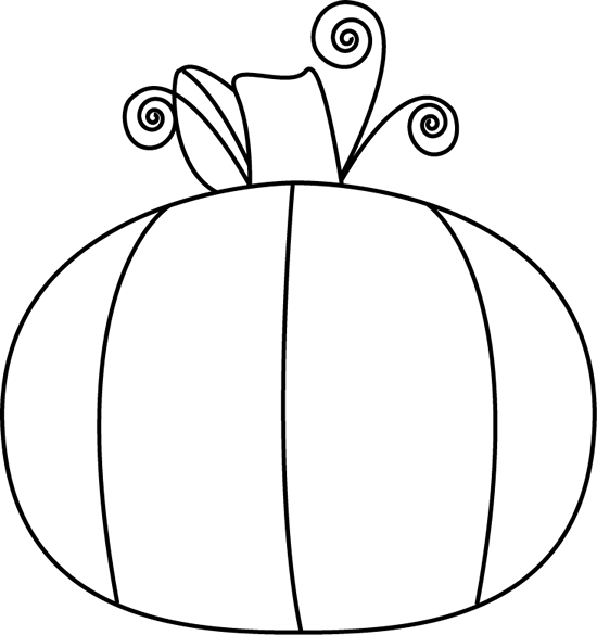 Pumpkin Clip Art Black And White Clipart Panda Free Clipart Images