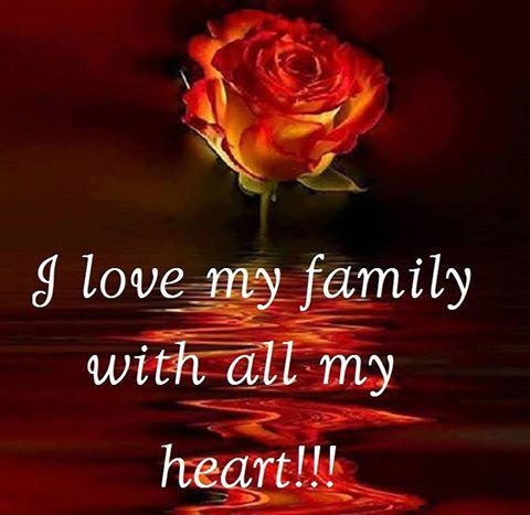 I Love My Family With All My Heart Pictures Photos And Images For
