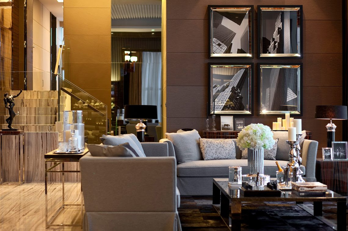 Live-Work Residence Designed for an Interior Designer and ...