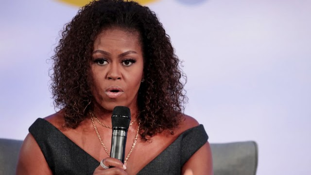 Michelle Obama To White People, You're Still Running From Black People
