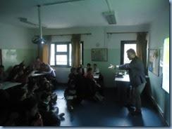Ομιλία – συζήτηση σχετικά με τις μορφές και τους τρόπους αντιμετώπισης της σχολικής βίας.
