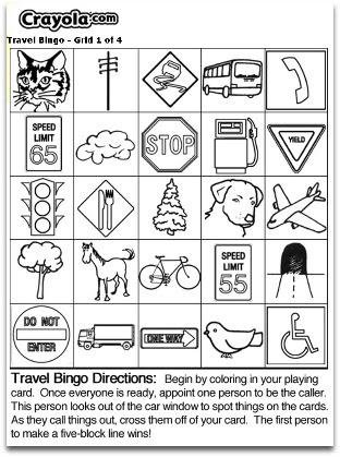 Travel Bingo - Free Printable Bingo Cards and Games
