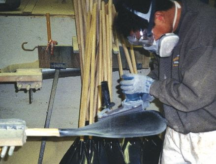 many paddle makers servicing the outrigger canoeing market and indeed