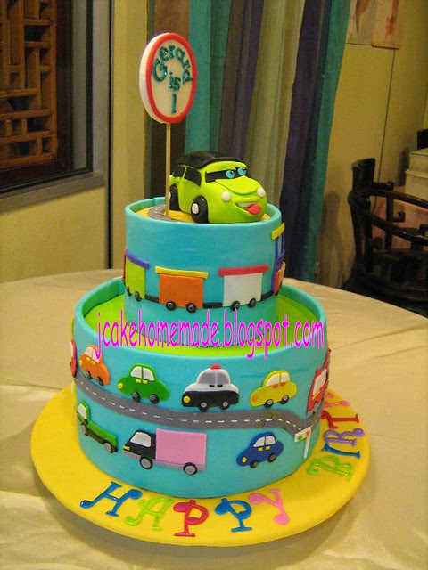 Easy Train Birthday Cake Food Corner