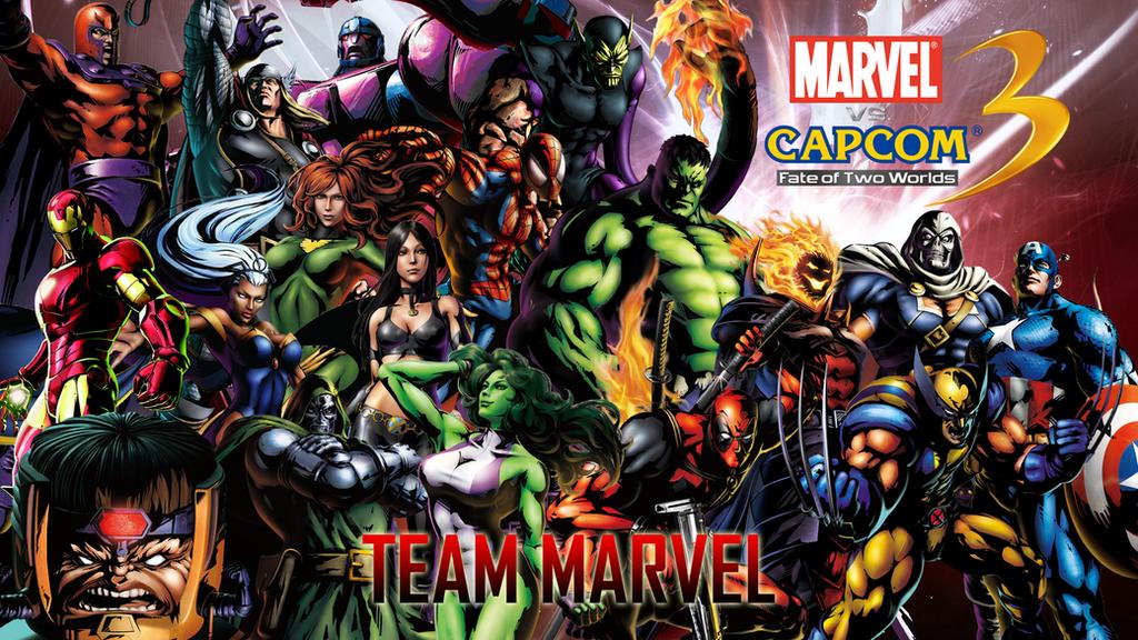 Resultado de imagem para marvel team from marvel vs capcom