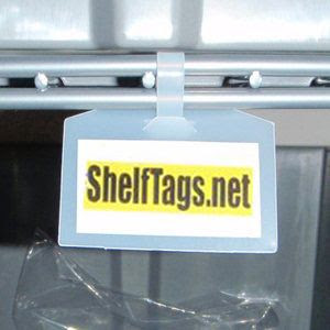 Label Holders For Wood Metal Wire Shelves Magnetic Adhesive Signs