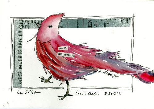 maraschino bird